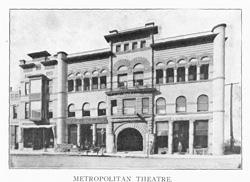 Metropolitan Opera House, 116 S. 3rd St., ca. 1907