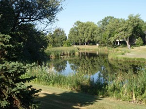 English Coulee A natural element that contributes to the Historic District