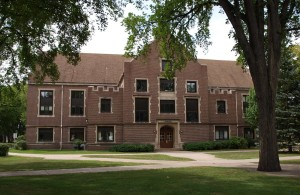 Montgomery Hall, built 1911 Tudor Revival