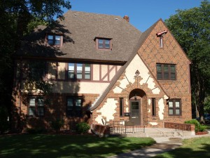 Pi Beta Phi Sorority House, built 1928 Tudor Revival