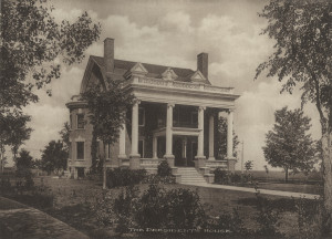 President's House (Oxford House), built 1903 Colonial Revival